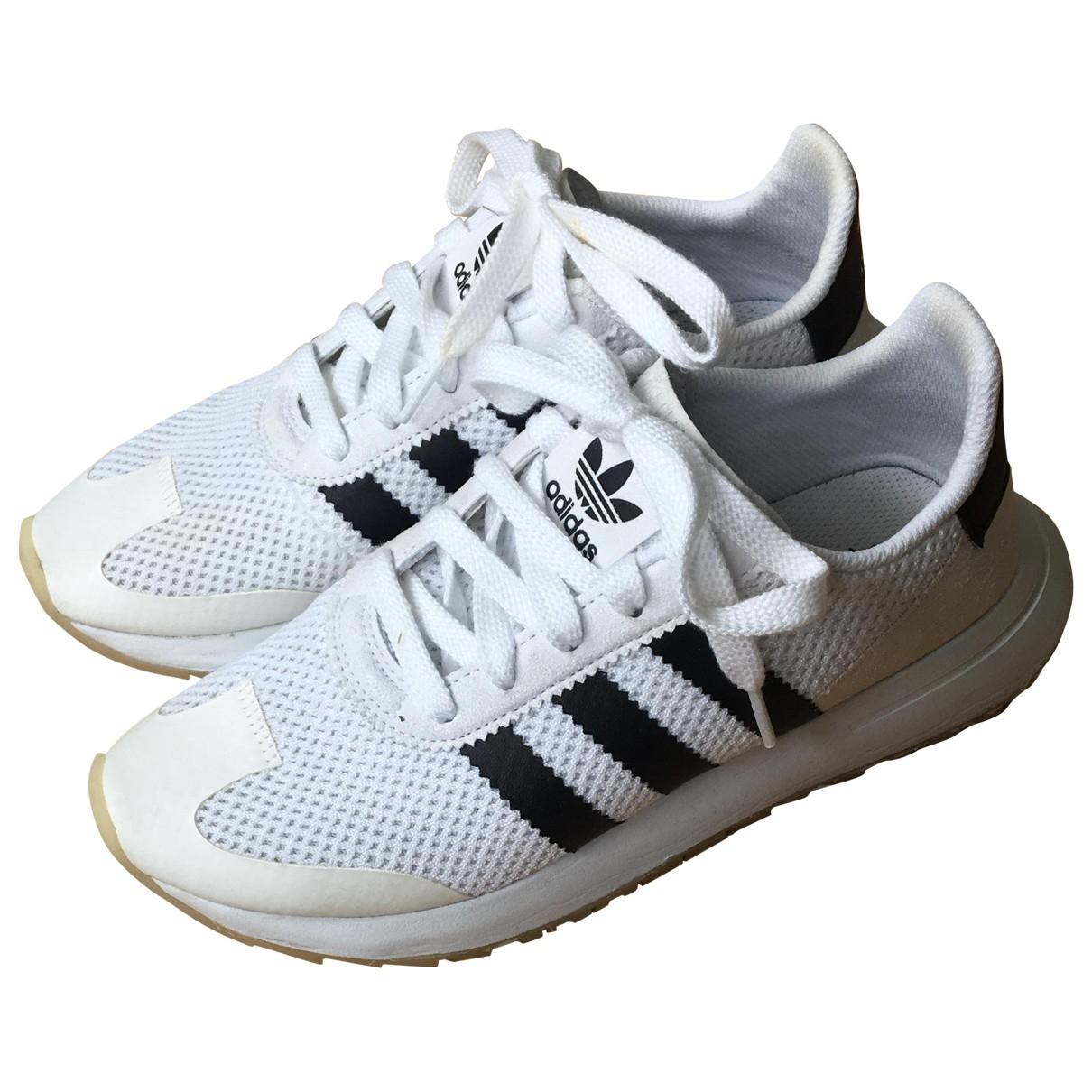 Adidas \N White Cloth Trainers for Women 38 EU