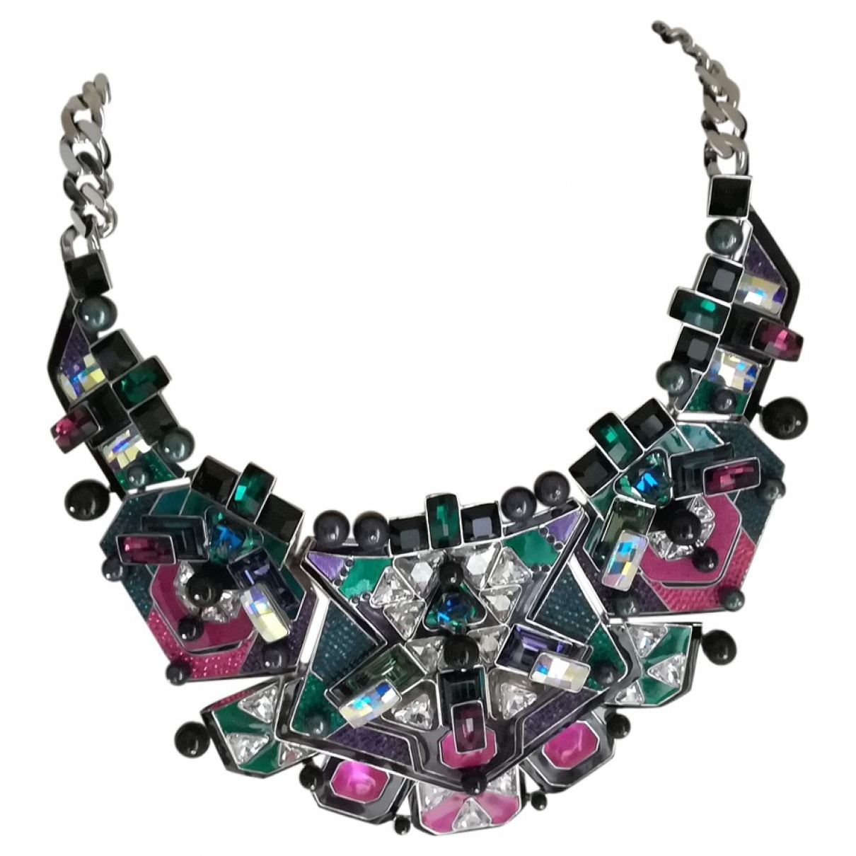 Swarovski \N Silver necklace for Women \N