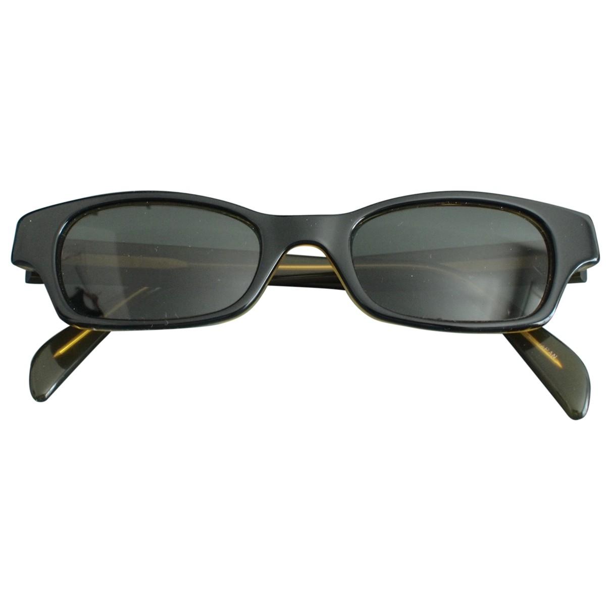 Donna Karan \N Sonnenbrillen in  Schwarz Kunststoff