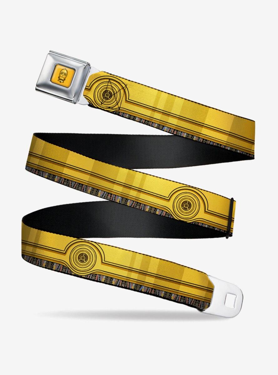 Star Wars C-3PO Wires Youth Seatbelt Belt
