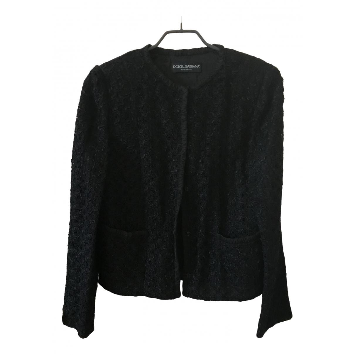 Dolce & Gabbana - Veste   pour femme - noir