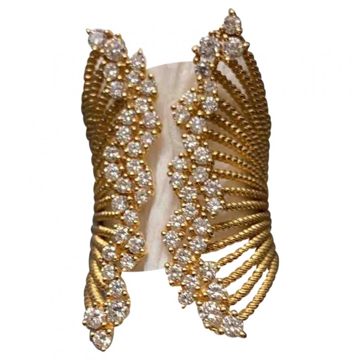 Djula - Bague   pour femme en or jaune - dore