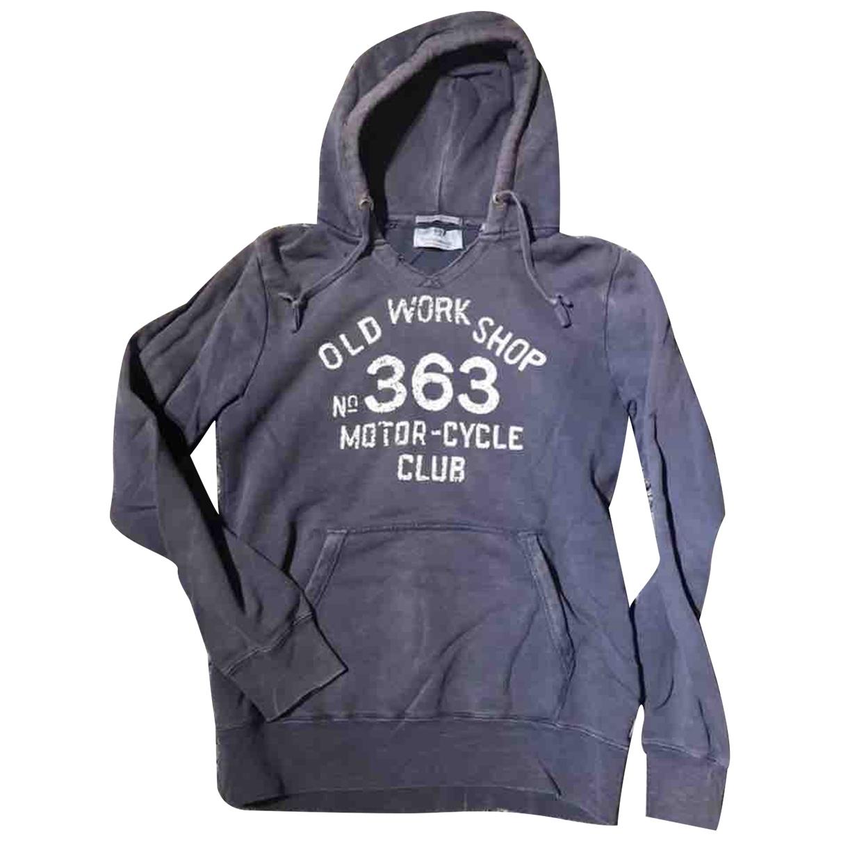 Scotch & Soda \N Pullover.Westen.Sweatshirts  in  Blau Baumwolle