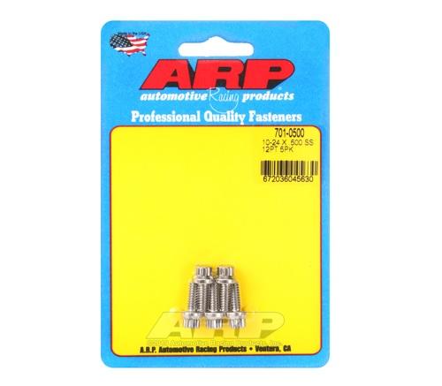 ARP 10-24 x .500 12pt SS bolts