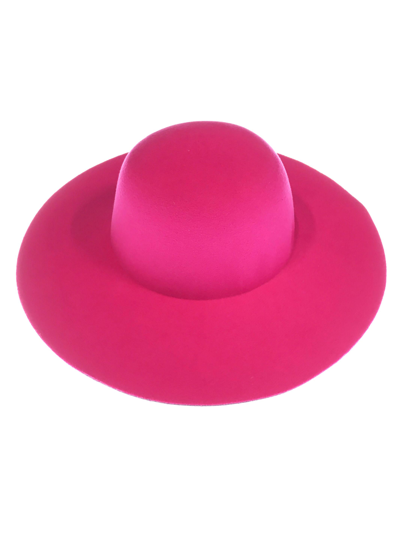 Kostuemzubehor Schlapphut pink