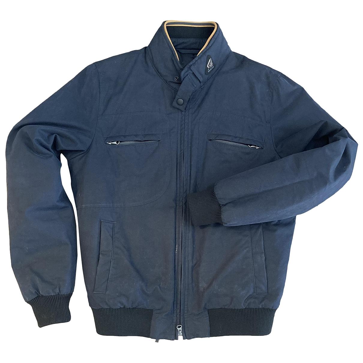 Hogan \N Jacke in  Blau Baumwolle
