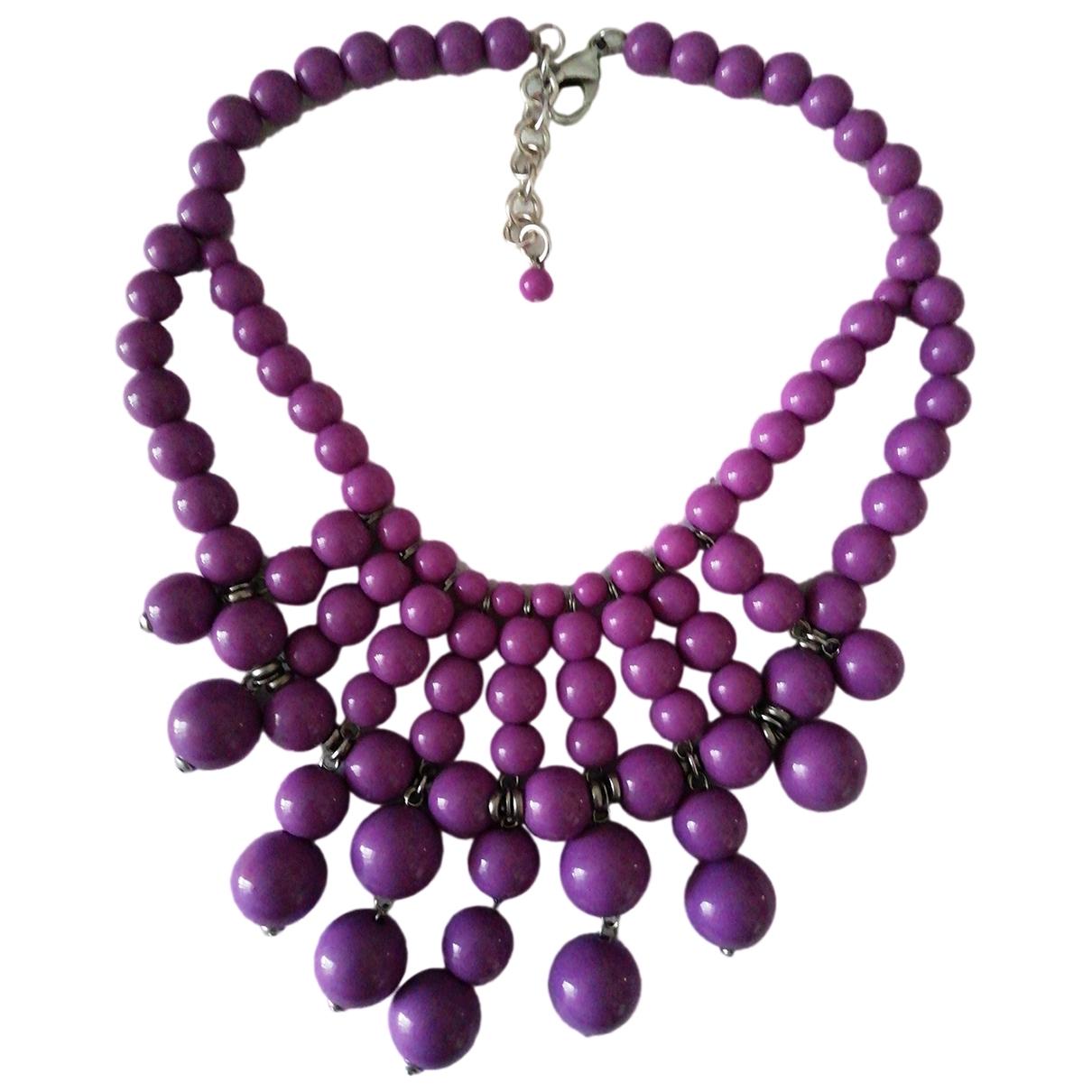 Zara \N Purple necklace for Women \N
