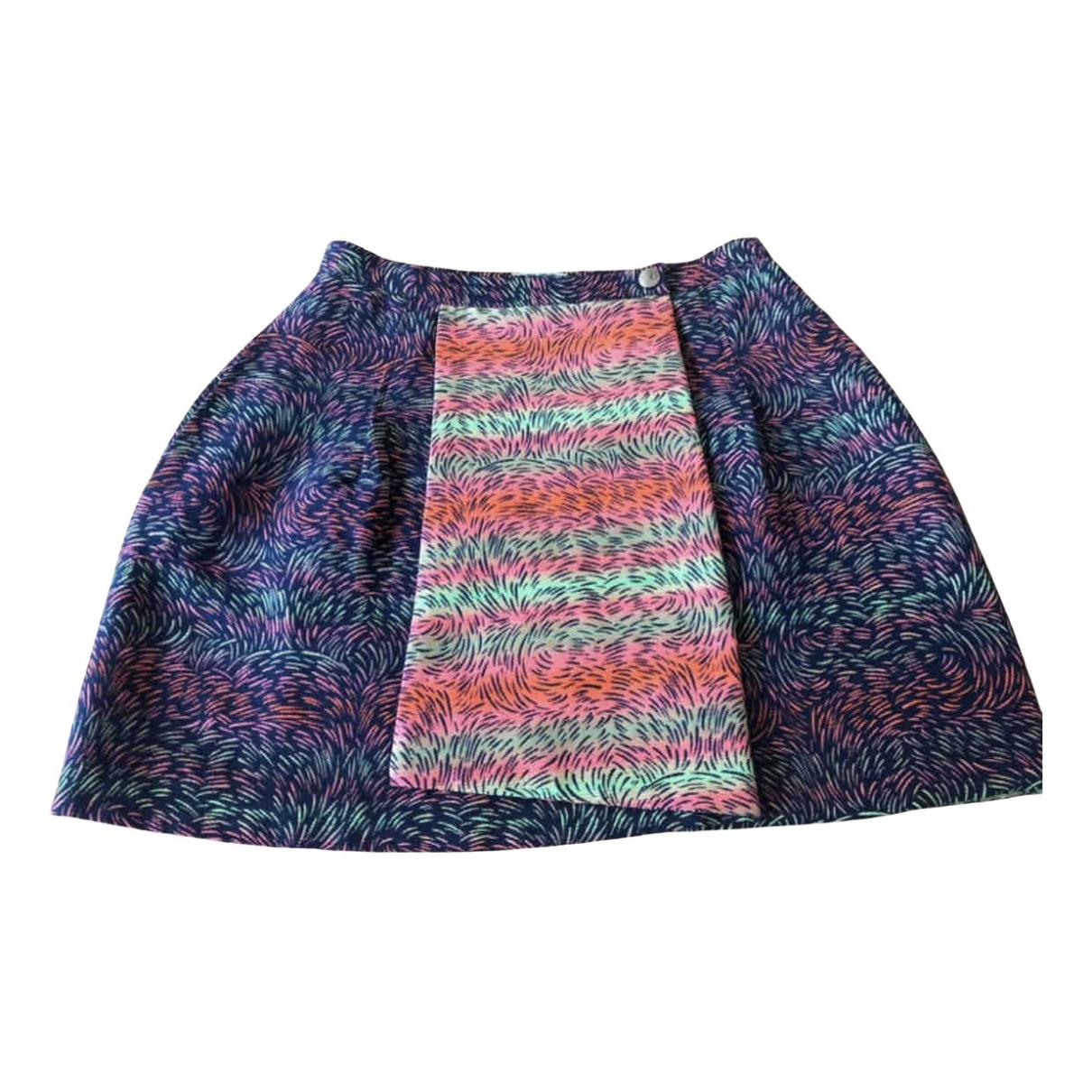 Kenzo N Multicolour Cotton skirt for Women 36 FR