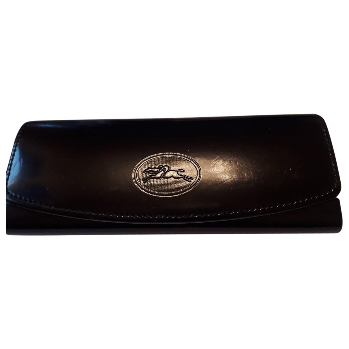 Longchamp \N Accessoires und Dekoration in  Schwarz Leder