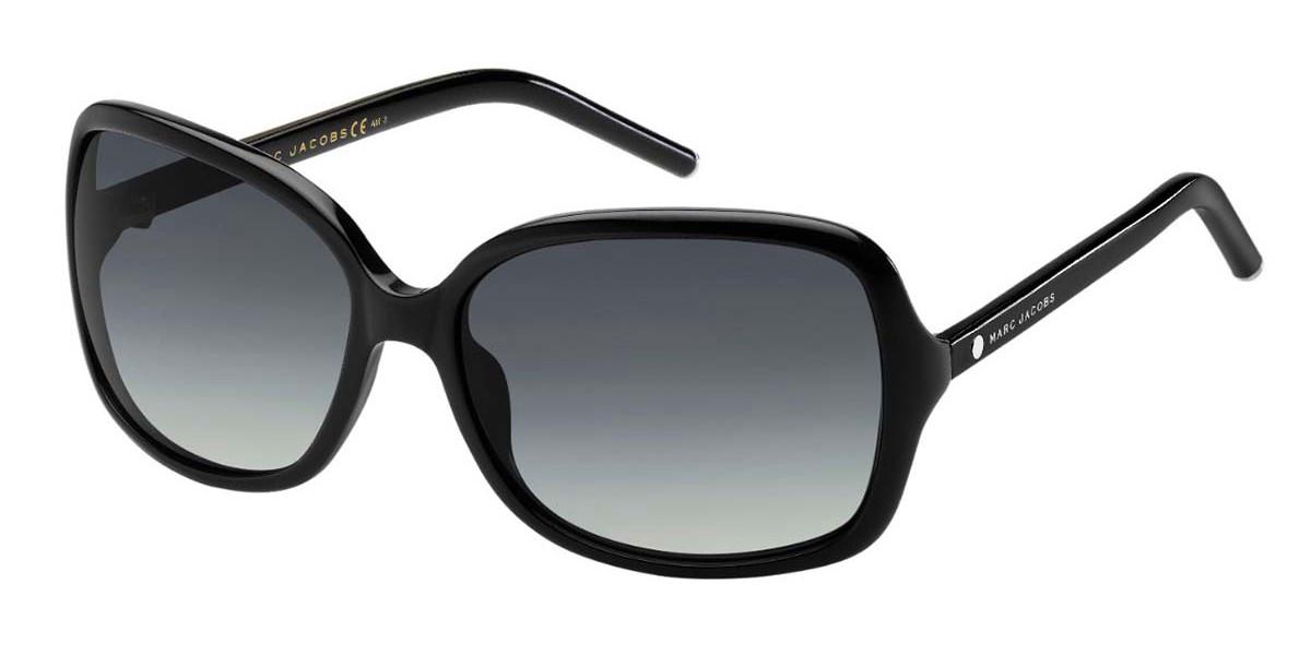 Marc Jacobs MARC 68/S 807/HD Women's Sunglasses Black Size 59