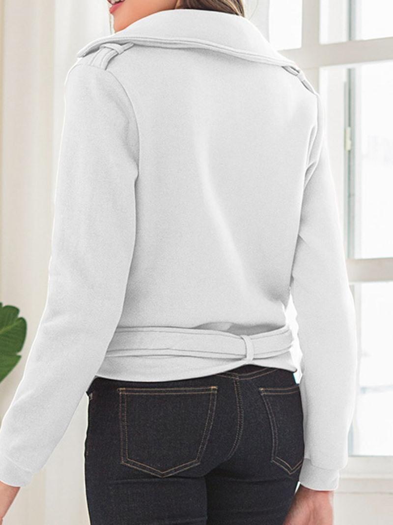 Ericdress Long Sleeve Zipper Slim Standard Regular Jacket