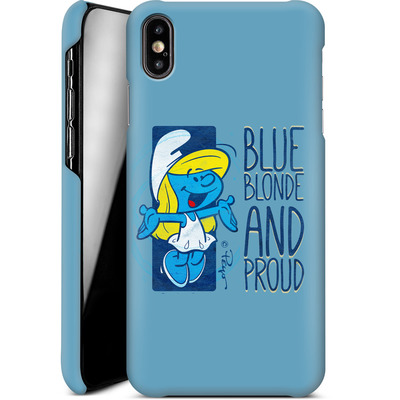 Apple iPhone XS Max Smartphone Huelle - Blue, Blond and Proud von The Smurfs