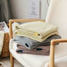 1pc Knitted Blanket