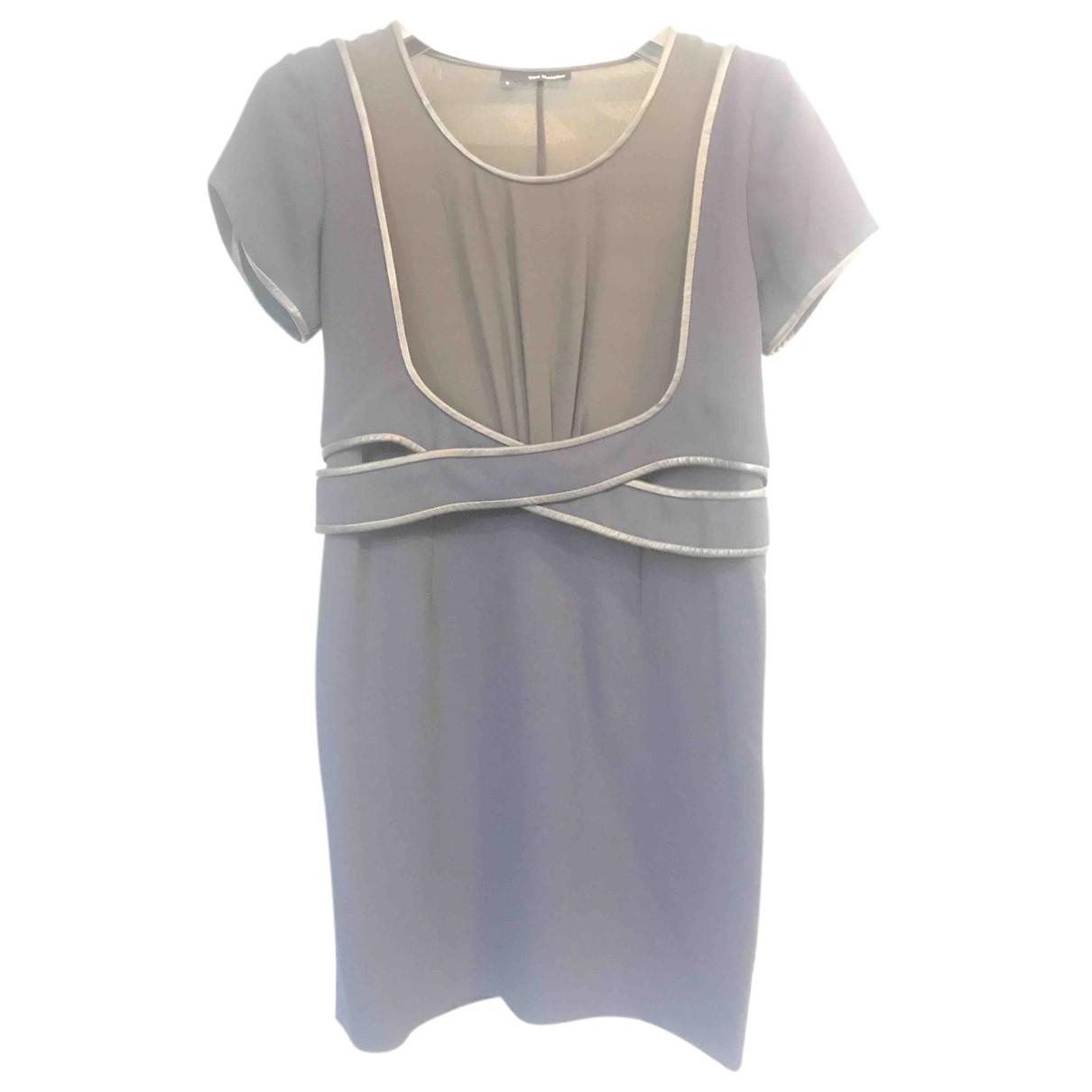 The Kooples \N Kleid in  Marine Polyester