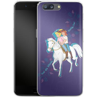 OnePlus 5 Silikon Handyhuelle - Bibi und Tina Pferd von Bibi & Tina