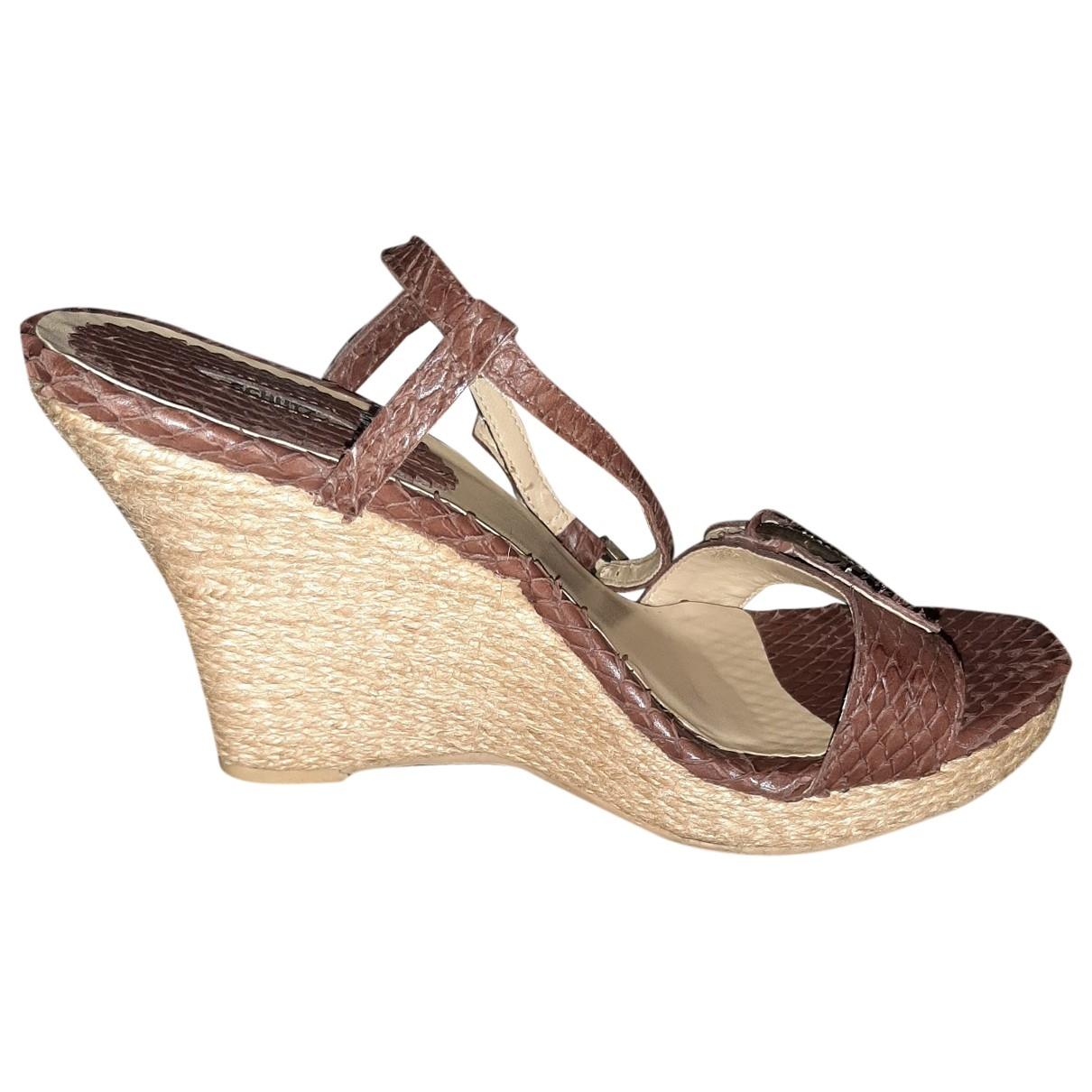 Sandalias de Piton Schutz