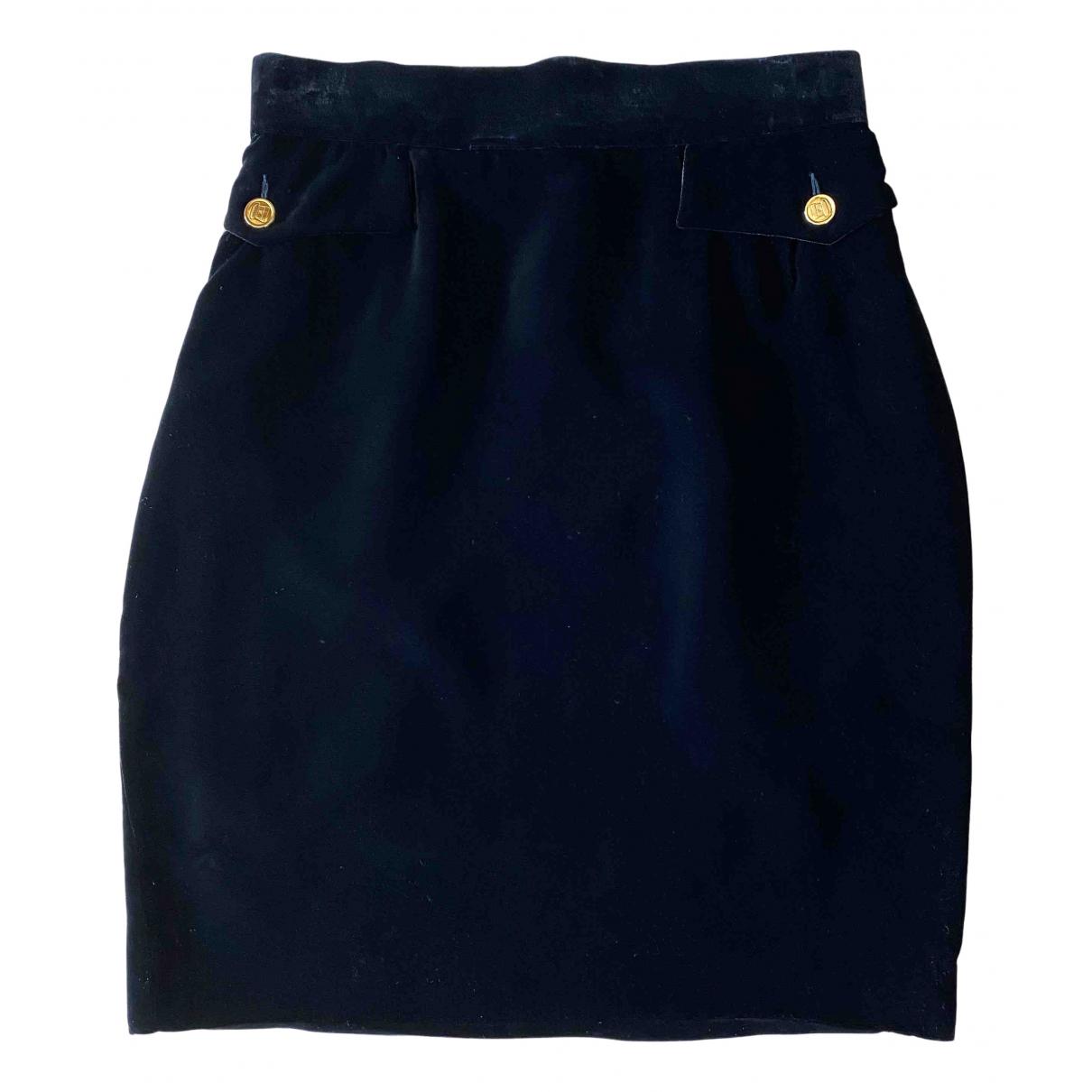Chanel N Black Silk skirt for Women 40 FR