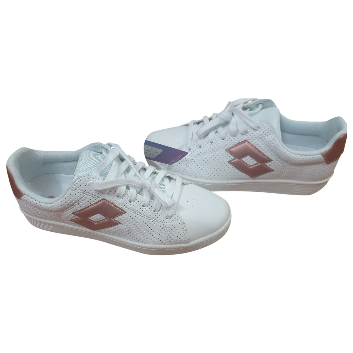 Lotto \N Sneakers in  Weiss Polyester