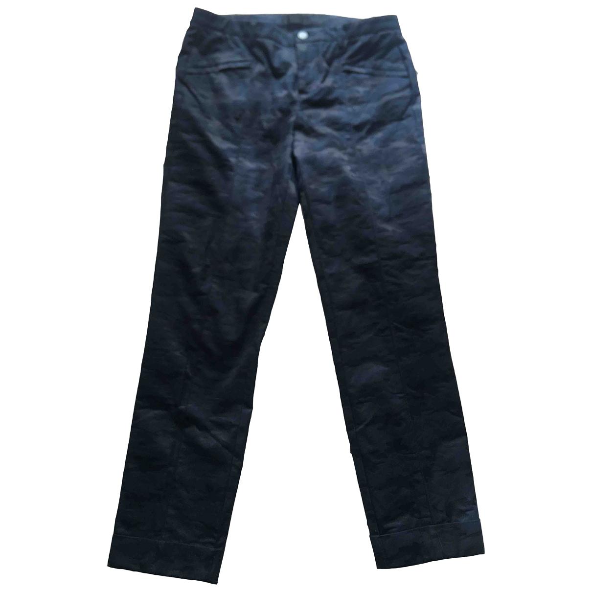 Atm \N Multicolour Cotton Trousers for Women 0 0-5