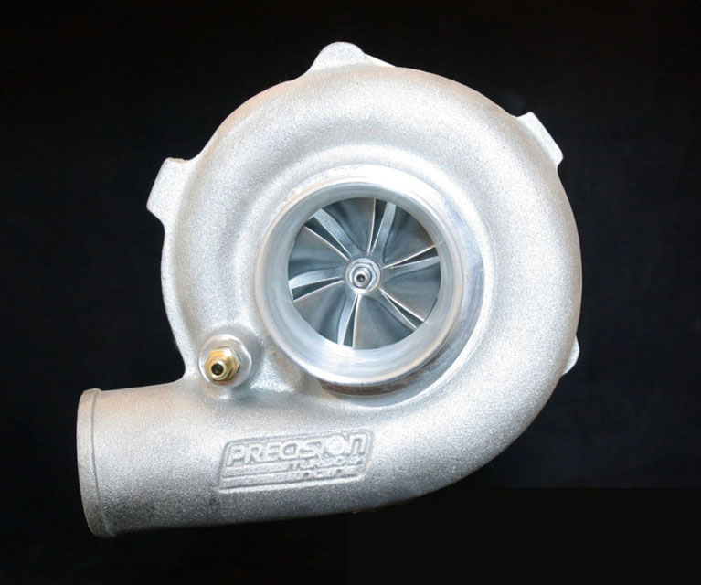 Precision Turbo & Engine 10501006279 GEN1 PT5558 JB B CC w/ T3 Stainless V-Band IN/OUT .64 A/R