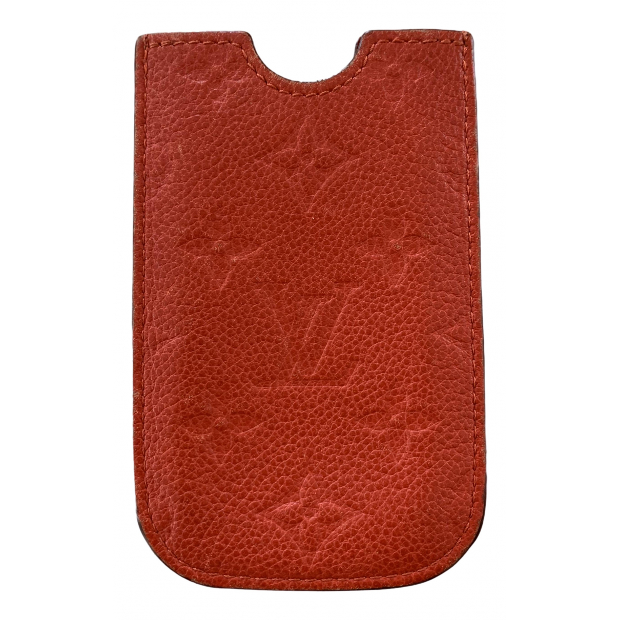 Louis Vuitton \N Red Leather Accessories for Life & Living \N
