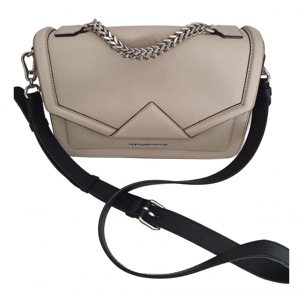 Karl Lagerfeld \N Handtasche in Leder