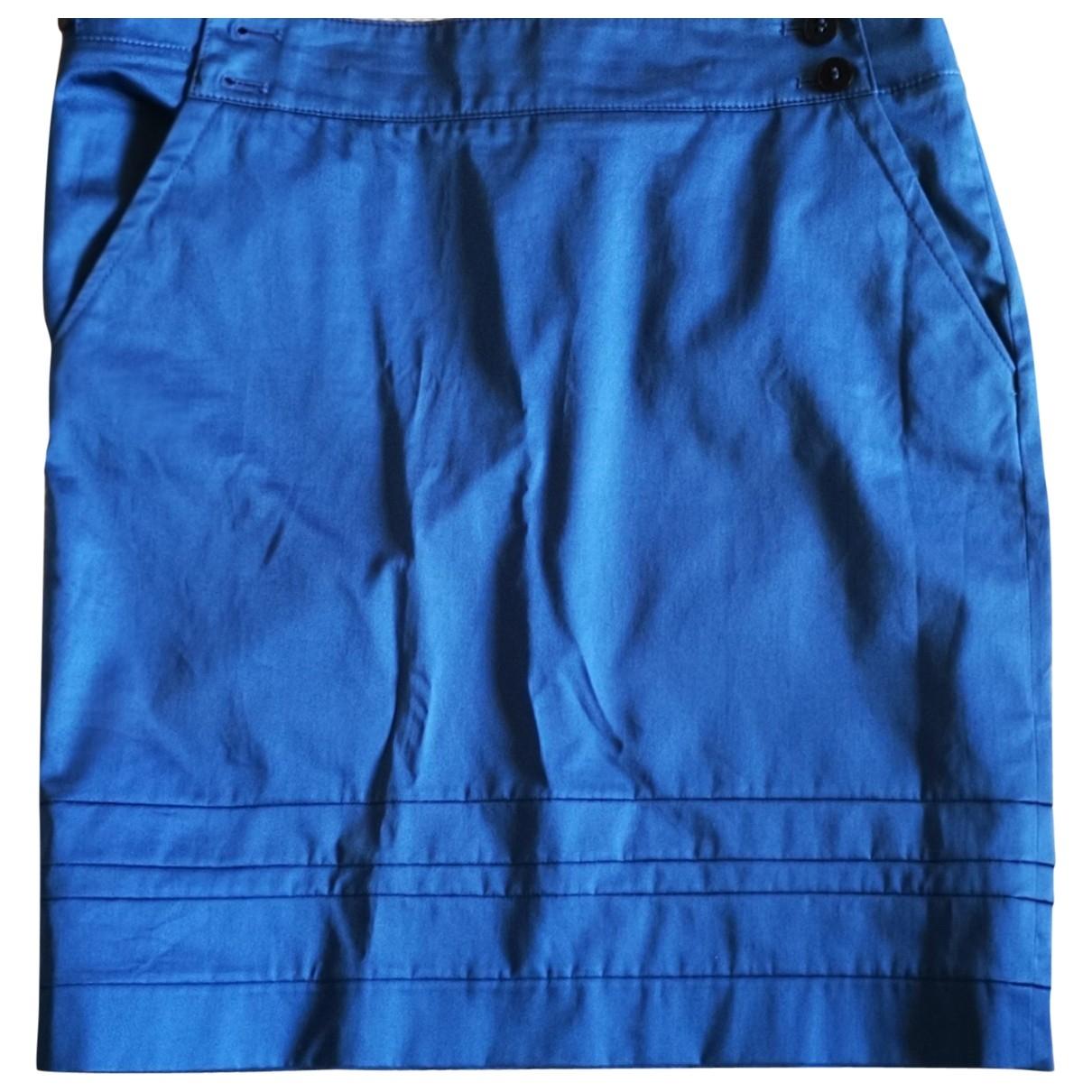 Mini falda de Lana Hugo Boss