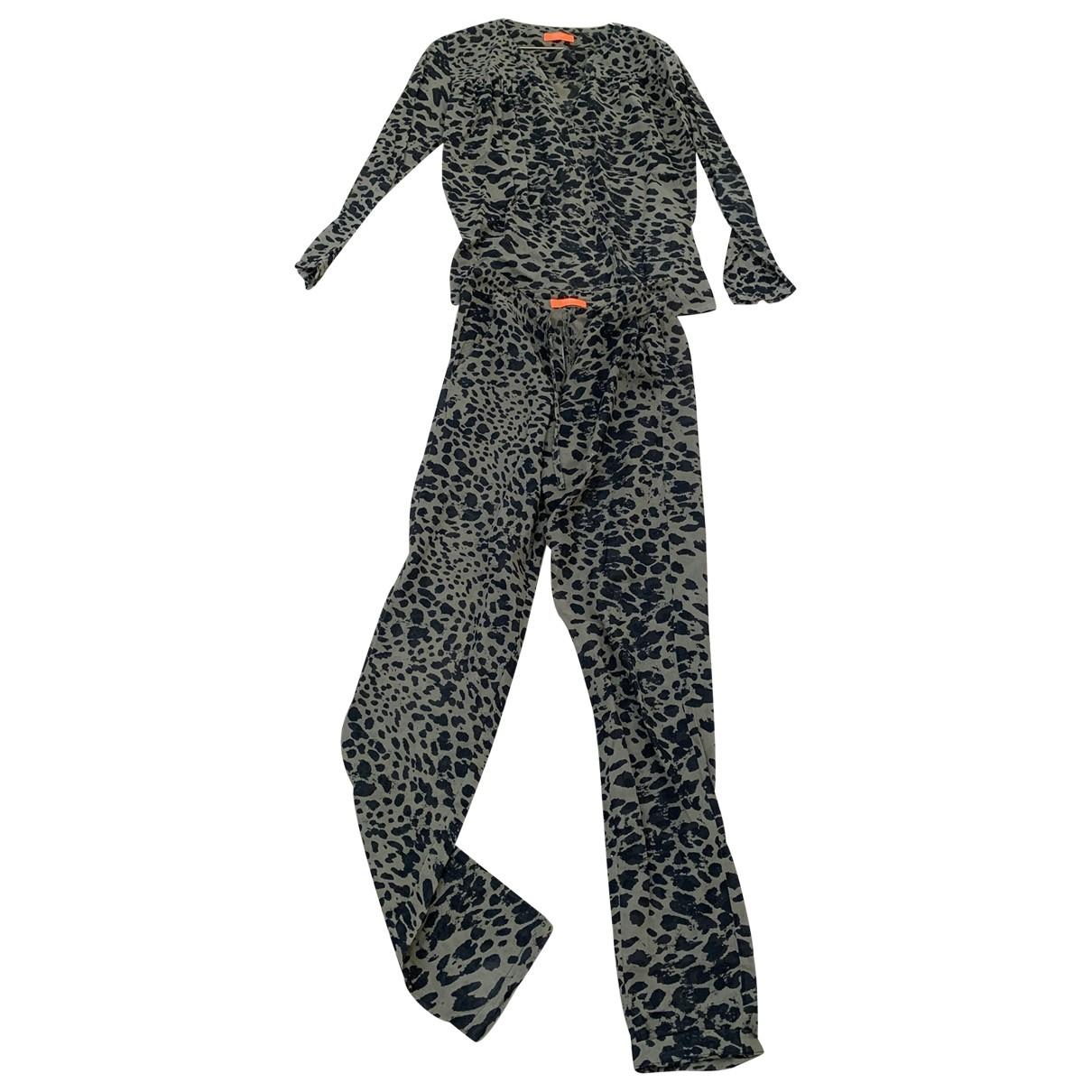 Ba&sh - Combinaison   pour femme en coton - kaki