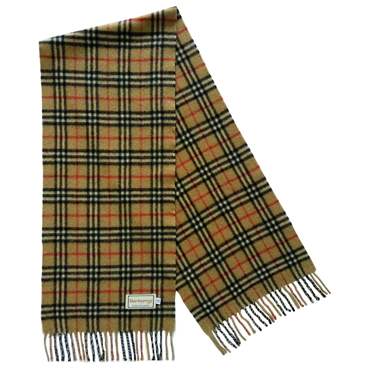 Burberry \N Beige Cashmere scarf for Women \N