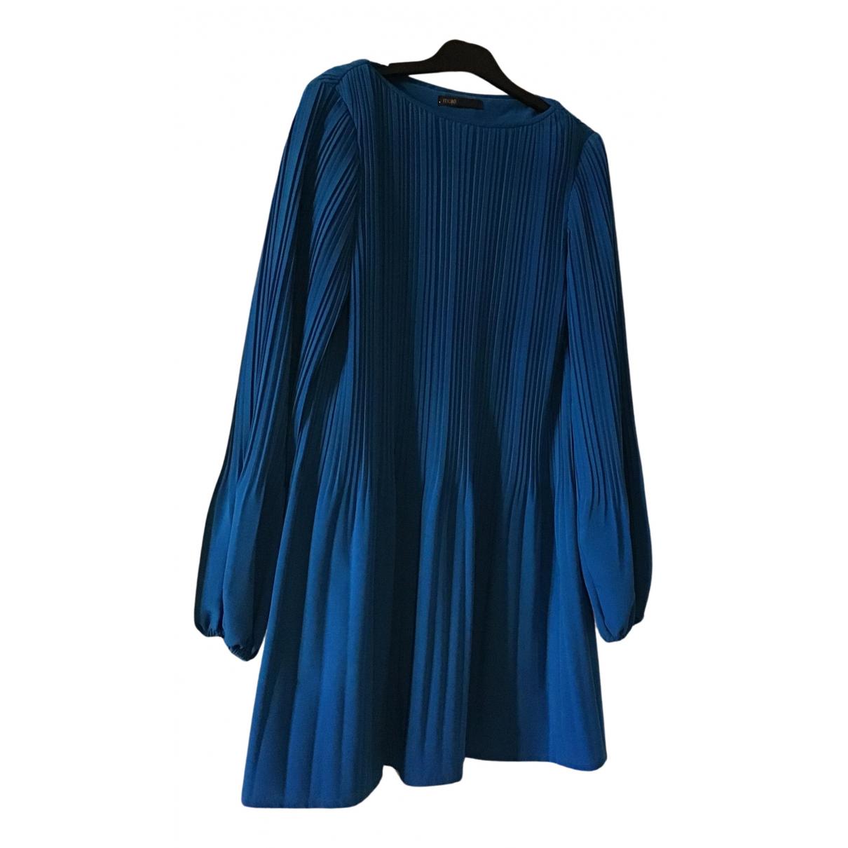 Maje - Robe   pour femme - bleu