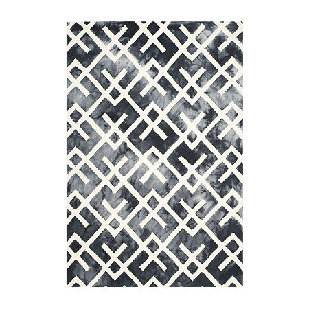 Safavieh Dip Dye Collection Earleen Geometric Area Rug, One Size , Multiple Colors