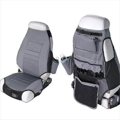 Rugged Ridge Fabric Seat Protector (Gray) - 13235.09