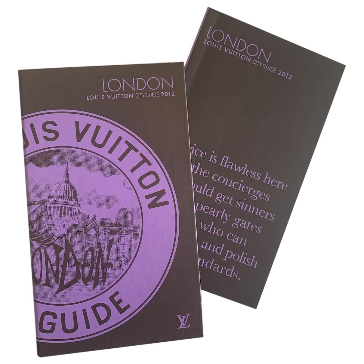 Louis Vuitton - Voyages City Guide pour lifestyle en coton - marron