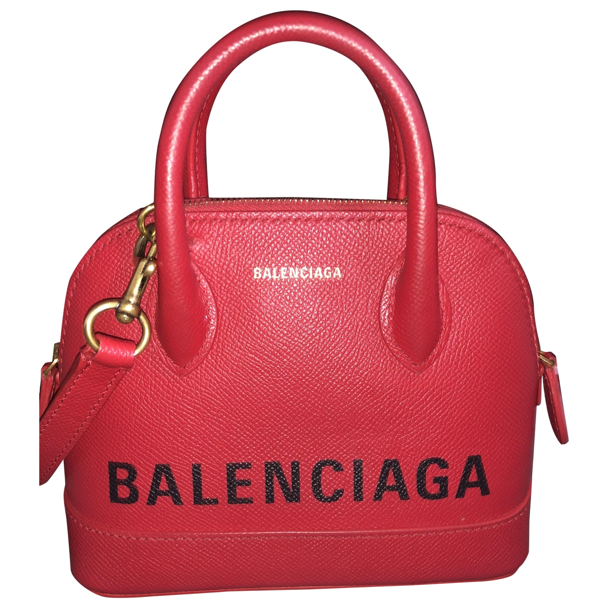 Balenciaga \N Red Leather handbag for Women \N