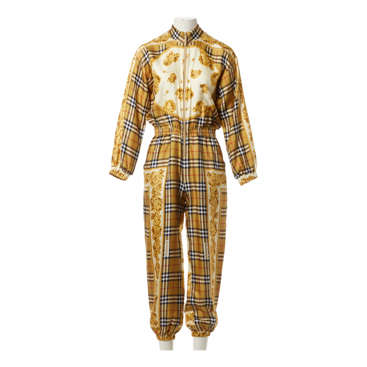 Burberry \N Multicolour Silk jumpsuit for Women 4 UK
