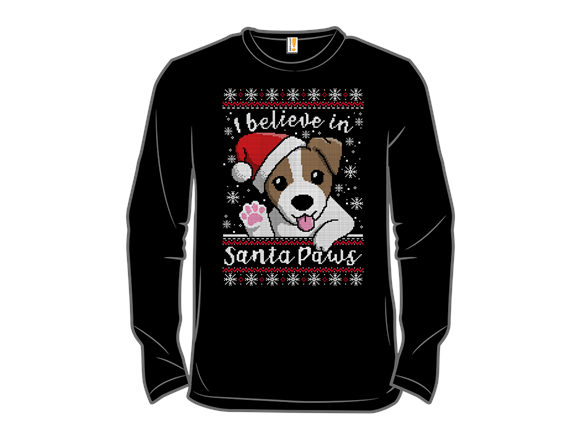 Santa Paws Sweater T Shirt