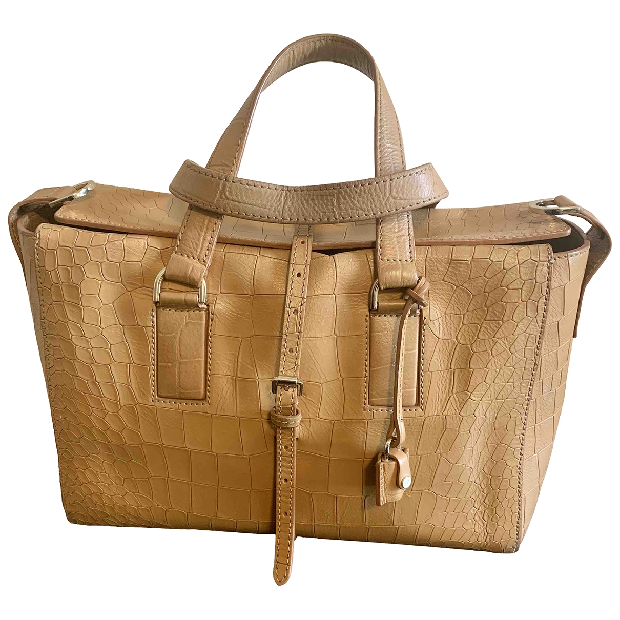 Mulberry \N Handtasche in  Kamel Leder