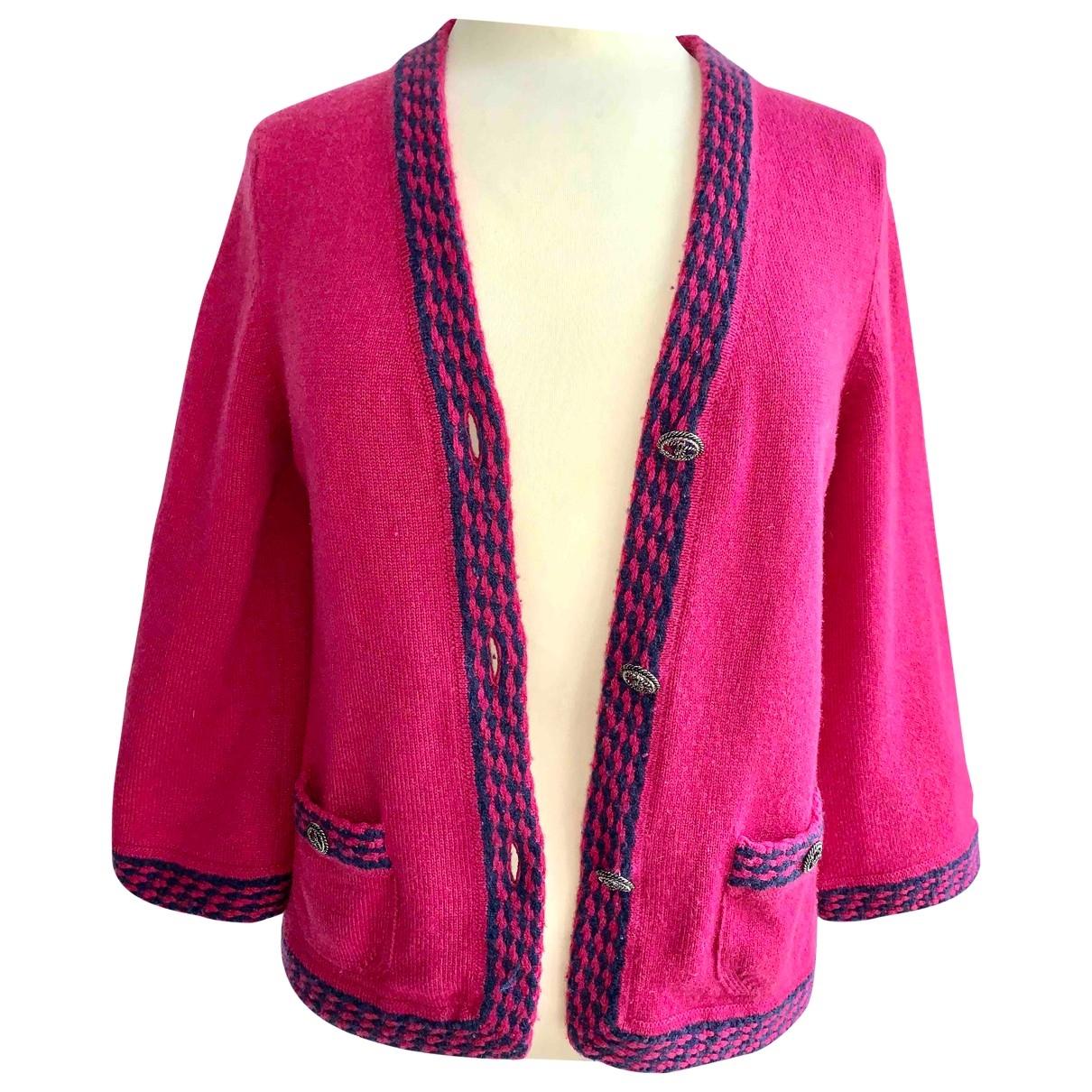 Chanel \N Pink Cashmere jacket for Women 36 FR