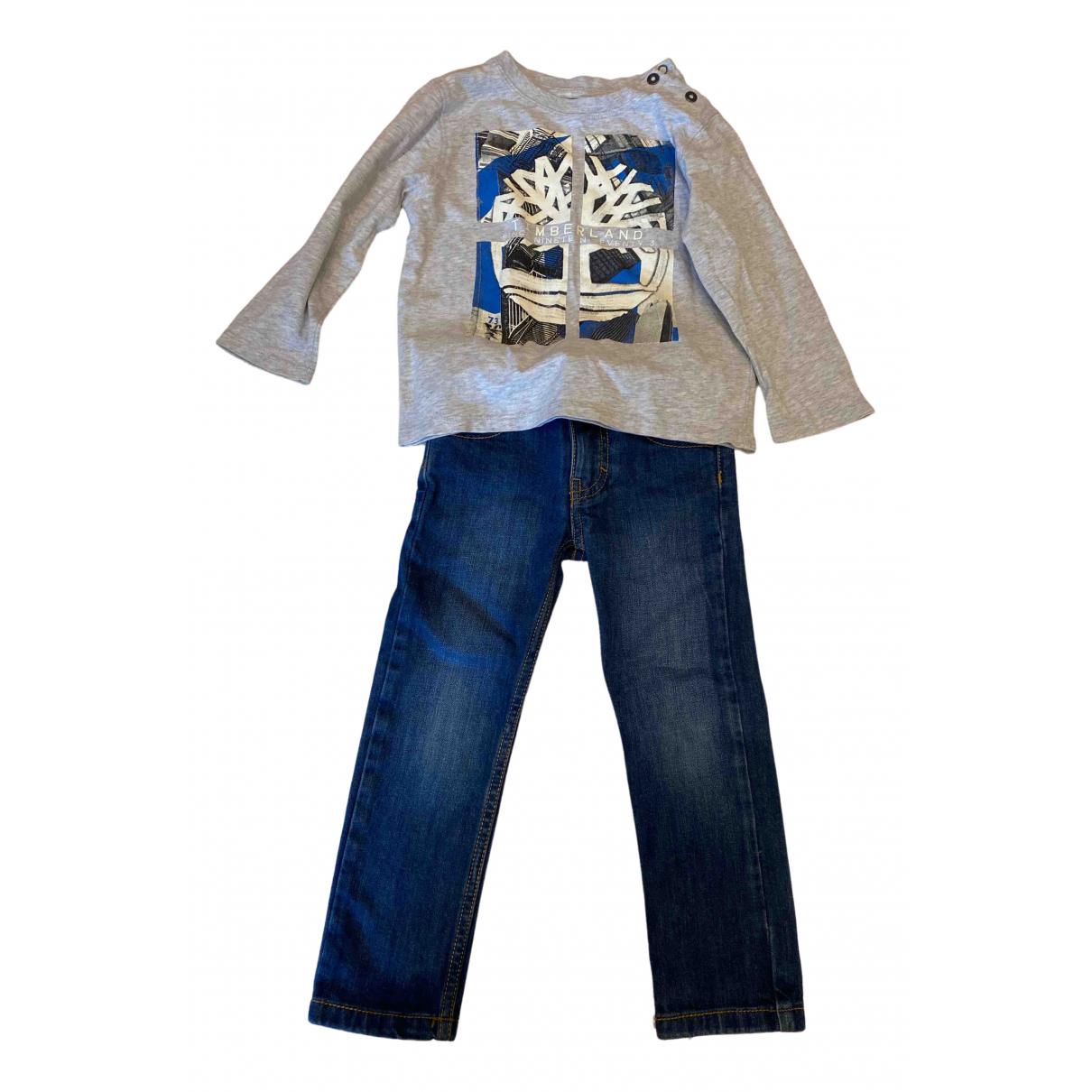 Timberland - Les ensembles   pour enfant en coton - gris