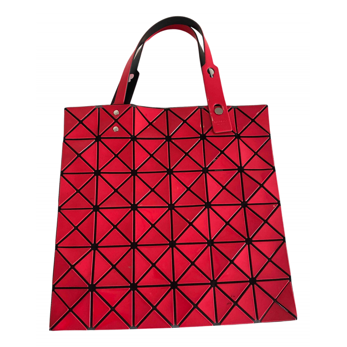 Issey Miyake - Sac a main   pour femme - rouge