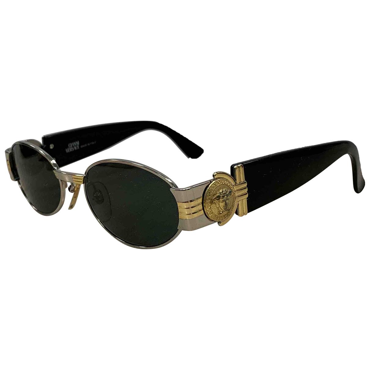 Versace N Multicolour Metal Sunglasses for Women N
