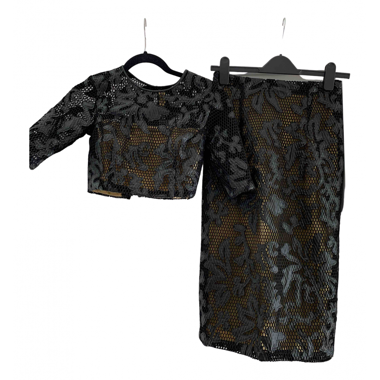 Non Signé / Unsigned N Black dress for Women S International