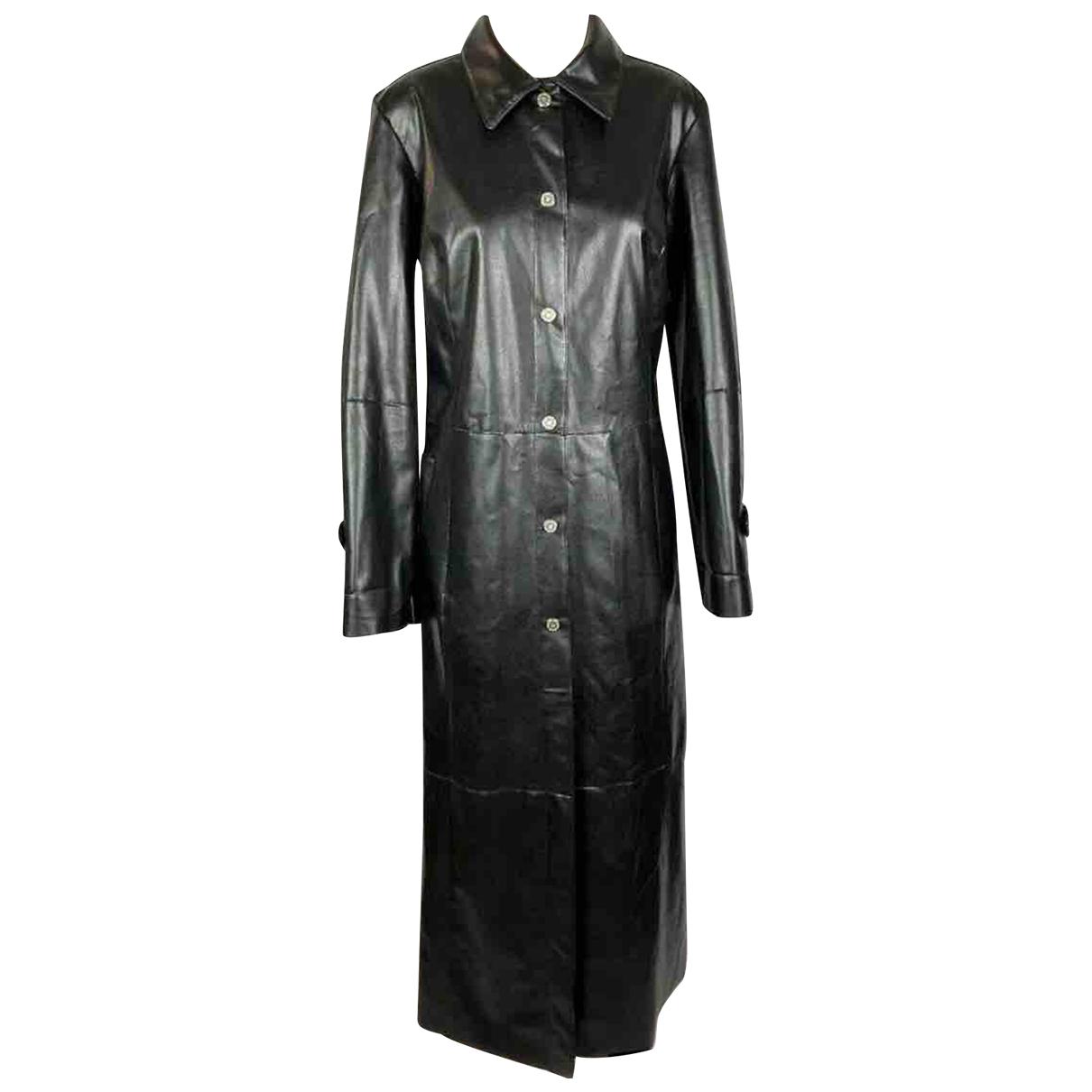 Non Signé / Unsigned \N Black coat for Women L International