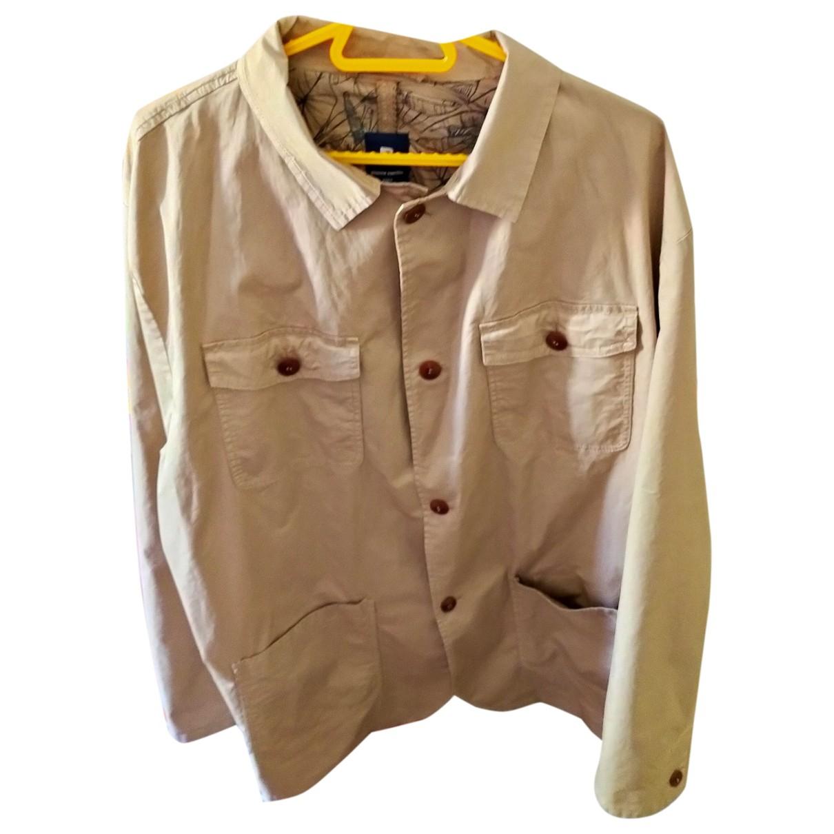 Pierre Cardin - Vestes.Blousons   pour homme en coton - beige