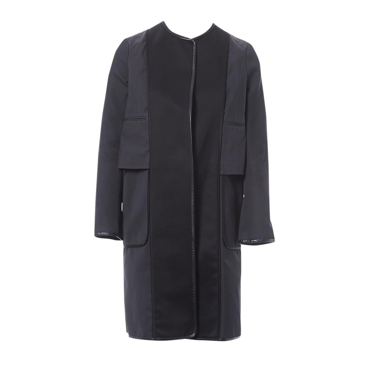 Celine \N Black Cotton jacket for Women 36 FR