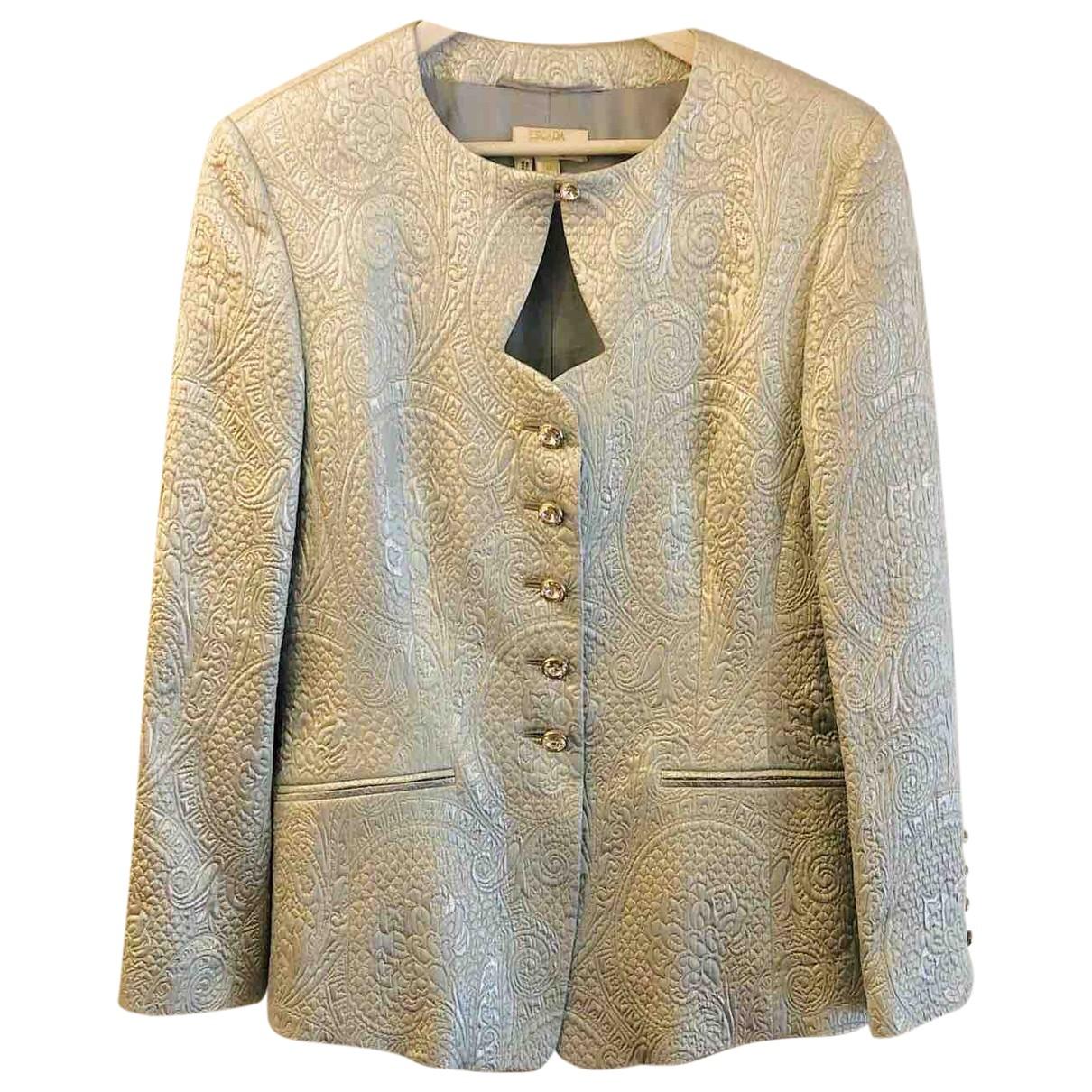 Escada \N Blue jacket for Women 40 FR