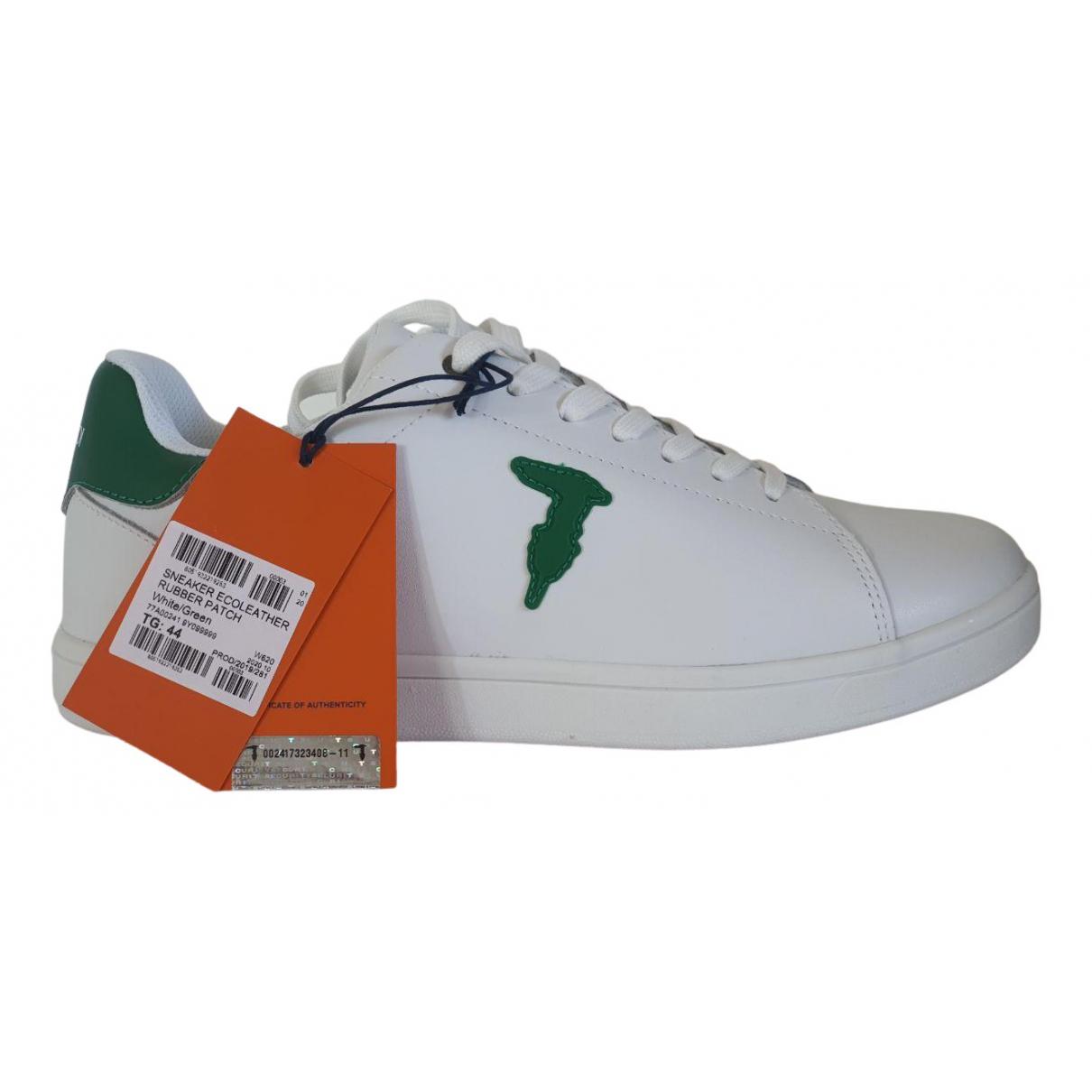 Trussardi Jeans \N Sneakers in  Weiss Leder