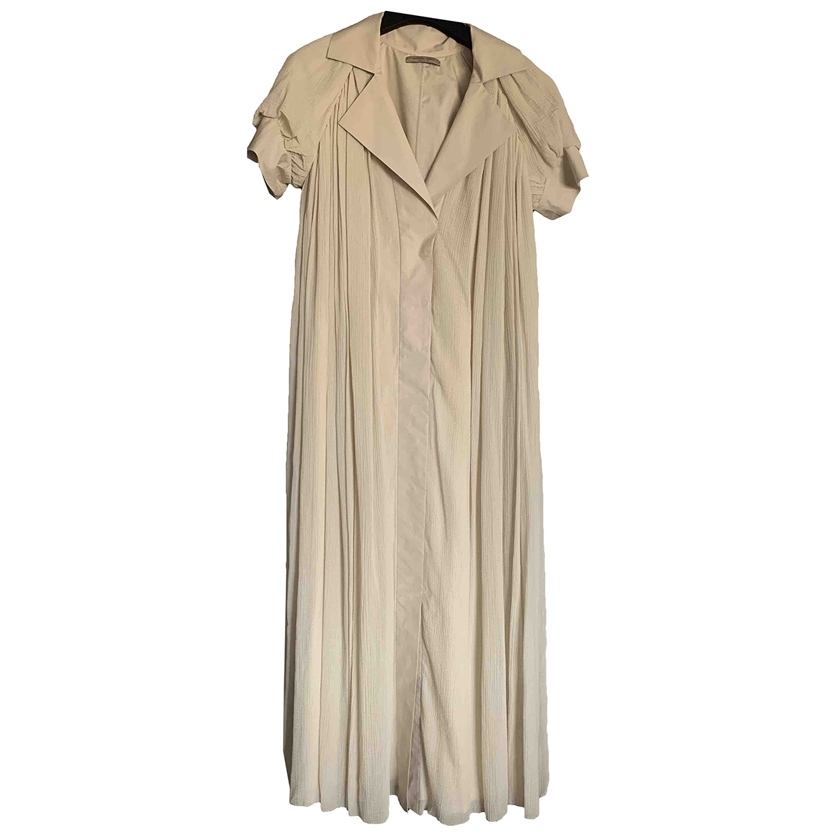 Bottega Veneta - Robe   pour femme en coton - beige