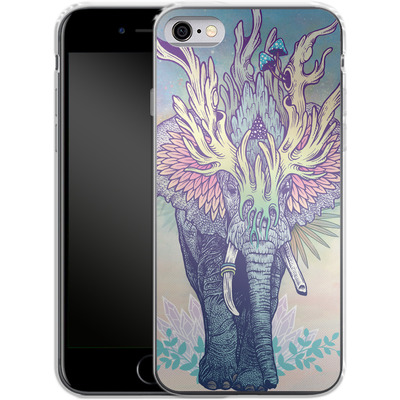 Apple iPhone 6s Silikon Handyhuelle - Spirit Elephant von Mat Miller