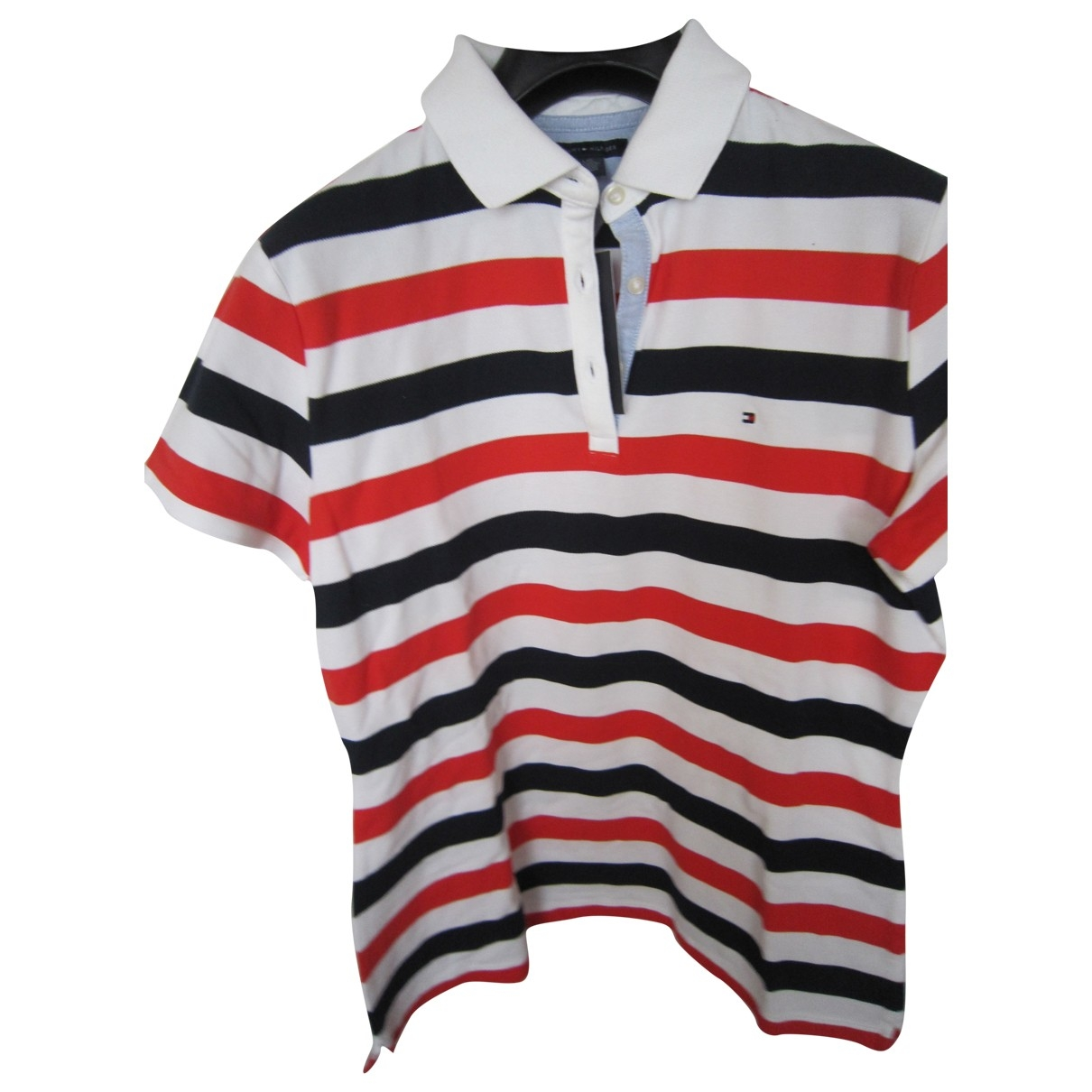 Tommy Hilfiger \N Red Cotton Knitwear for Women L International